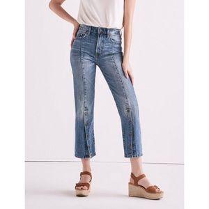 Lucky Brand Lucky Pins Shrunken Boot Jeans 27